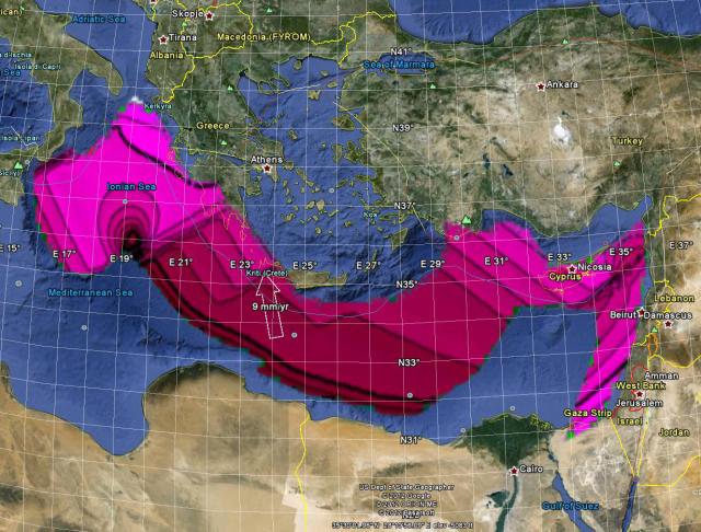 Wild idea 6743 possible impact signatures in seafloor for Another word for ocean floor